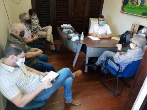 SINDIÁGUA-PB se reúne com Presidente da FAMUP para discutir os impactos do Novo Marco legal do saneamento