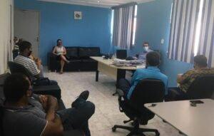 SINDISAN discute dissídios coletivos com presidente